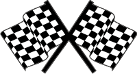 Checkered Flags Decal