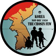 Korea The Chosin Few - 3 Decal