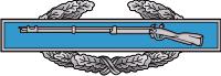 Combat Infantryman Badge First Award Decal