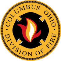 Columbus Ohio Division of Fire Decal