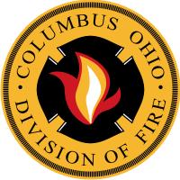 Columbus Ohio Division of Fire Decal