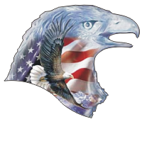 Crystal Eagle Decal