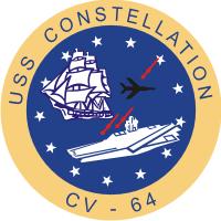CV-64 USS Constellation Logo Decal