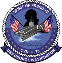 USS George Washington CVN-73 Decal
