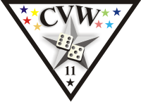 CVW-11 Carrier Air Wing Eleven Decal