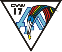 CVW-17 Carrier Air Wing Seventeen Decal