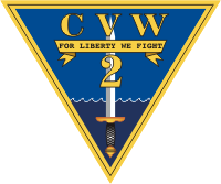CVW-2 Carrier Air Wing Two Decal