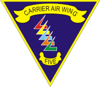 CVW-5 Carrier Air Wing Five Decal