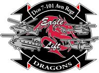 D Company 7 101st Aviation Regiment Decal