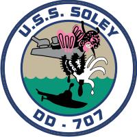 USS Soley DD-707 (v2) Decal