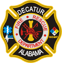 Decatur Fire Department Decal