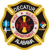 Decatur Fire Department Decal
