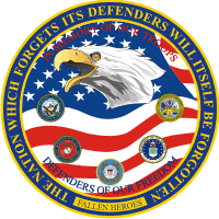 Defenders Of Our Freedom (Round) Decal