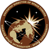 US Central Command Air Forces (USCENTAF) – Director of Space Forces Decal