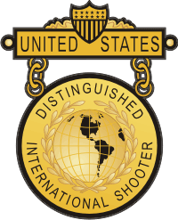 Distinguished International Shooter Decal