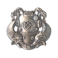 Army 1st Class Diver Decal