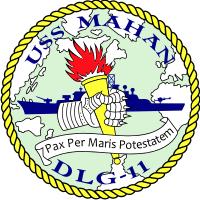 USS Mahan DLG-11 Decal