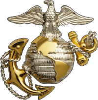 USMC Eagle Globe Anchor Decal