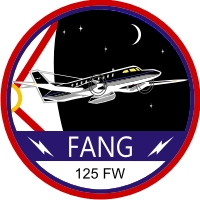 125th Fighter Wing - Florida Air National Guard C-26 Decal