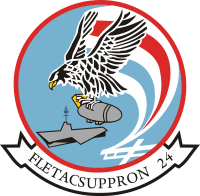 Fleet Tactical Support Squadron 24 Decal