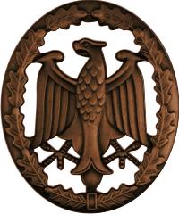 German Armed Forces Proficiency Badge (Bronze) Decal