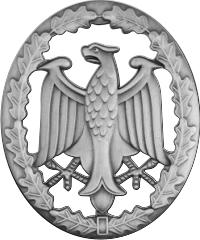 German Armed Forces Proficiency Badge (Silver) Decal
