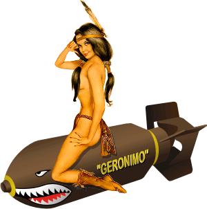 Geronimo Decal