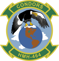 HMH-464 Marine Heavy Helicopter Squadron - Condors Decal