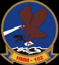 HMM-162 Marine Medium Helicopter Squadron Decal