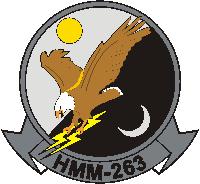 HMM-263 Marine Medium Helicopter Squadron Decal