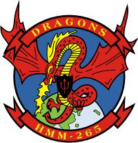 HMM-265 Marine Medium Helicopter Squadron (v2) Decal