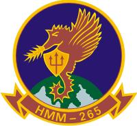 HMM-265 Marine Medium Helicopter Squadron (v3) Decal