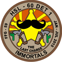HSL-60 Helicopter Anti-Sub Squadron 60 Light Immortals Decal