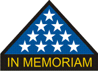 Flag In Memoriam Decal
