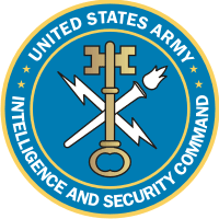 U.S. Army Intelligence & Security Command Decal