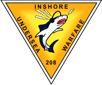 Inshore Undersea Warfare with Unit Number Decal