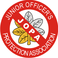 Junior Officer's Protection Association Decal