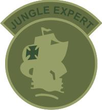 Jungle Expert Camo Decal