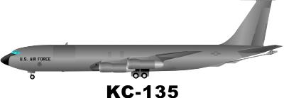 Boeing KC 135 Stratotanker Decal
