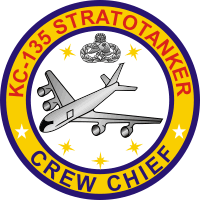 KC-135 Stratotanker Crew Chief Decal