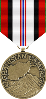 Afghanistan Service Medal Decal