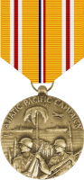 Asiatic-Pacific Campaign Medal Decal