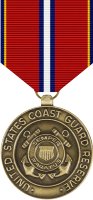 CG Reserve Good Conduct Medal Decal