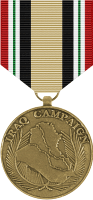 Iraq Campaign Medal Decal