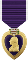 Purple Heart Medal Decal