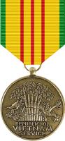 Vietnam Service Medal Decal