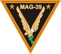 MAG-39 Marine Aircraft Group 39 Decal