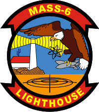MASS-6 Marine Air Support Squadron 6 Decal