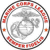 Marine Corps League Color Decal