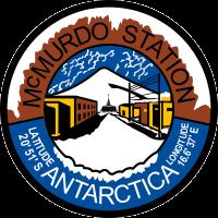 McMurdo Station Antarctica (Originally Naval Air Station McMurdo) Decal
